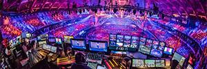 El Festival de Eurovisión 2018 basó su puesta en escena en la iluminación espectacular