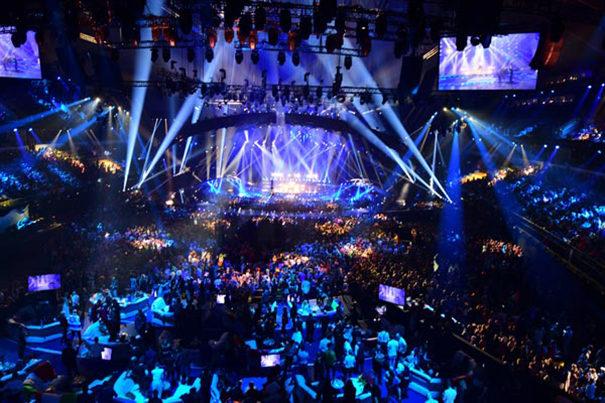 eurovisi n 2018 bas su puesta en escena en la iluminaci n