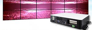 IBase SI-61S: reproductor de videowall para señalización multipantalla UHD