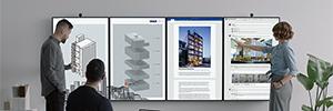 Microsoft optimiza el trabajo colaborativo con la nueva versión de Surface Hub