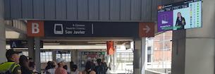 Metro de Medellín estrena su red de pantallas digitales informativas con Deneva transIT