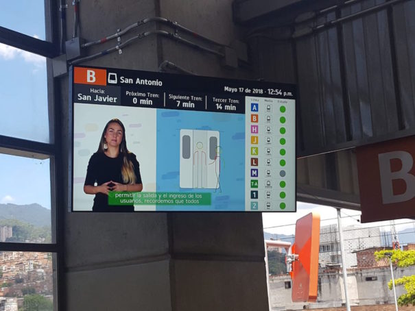Multimedia-Symbol Medellin Metro deneva