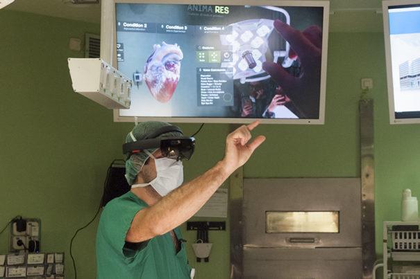 Microsoft HoloLens hospital Gregorio-Maranon Exovite