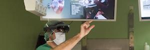 La efectividad de la realidad mixta de Microsoft HoloLens en su aplicación en quirófanos