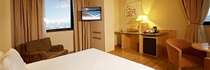 Los hoteles Abba modernizan sus sistemas de visualización con Philips