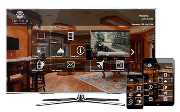 Portal IPTV interactivo