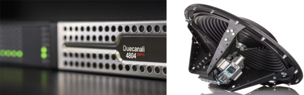 Powersoft Duecanali 4804 y MForce-1