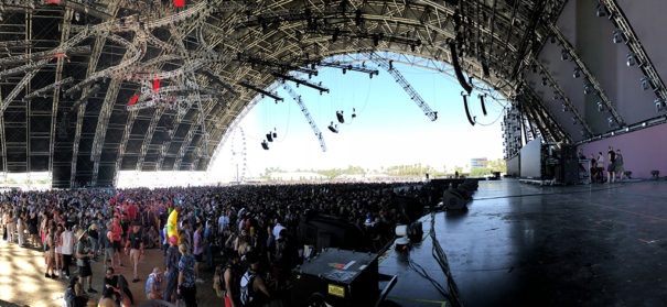 Powersoft en Coachella 2018 Sahara Tent