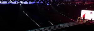 Mapping de 30 metros en pasarela con imágenes en 8K en los III Premios Panorama