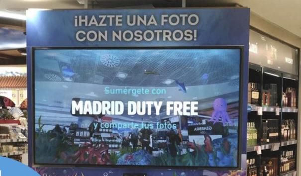 Telefonica On the spot imascono aeropuerto madrid-barajas