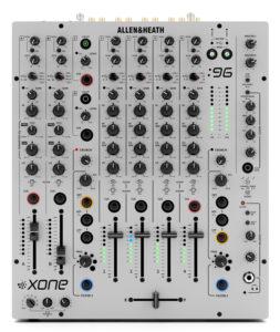 Allen Heath Xone-96 audio-technica iberia