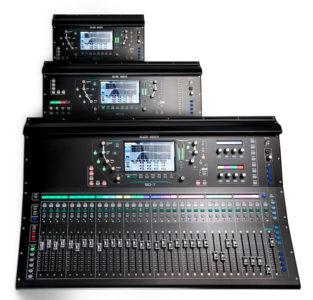 Allen-heath SQ-7 audio-technica iberia