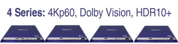 BrightSign Serie 4 XT y XD