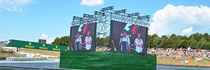 El Circuit de Barcelona-Catalunya instala 700 m2 de paneles Absen X5 Led