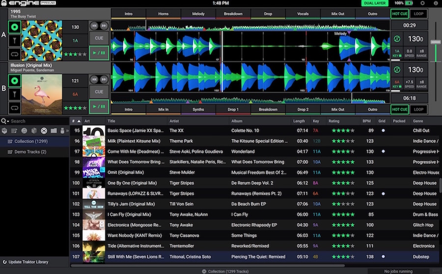 Denon DJ has available firmware upgrade to SC5000 and Prime