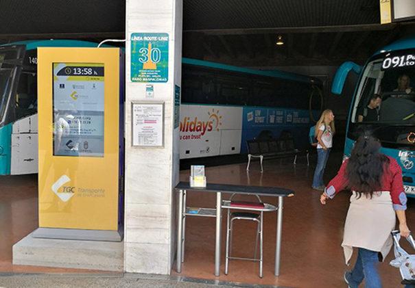 Dj3 en Transporte Gran Canaria