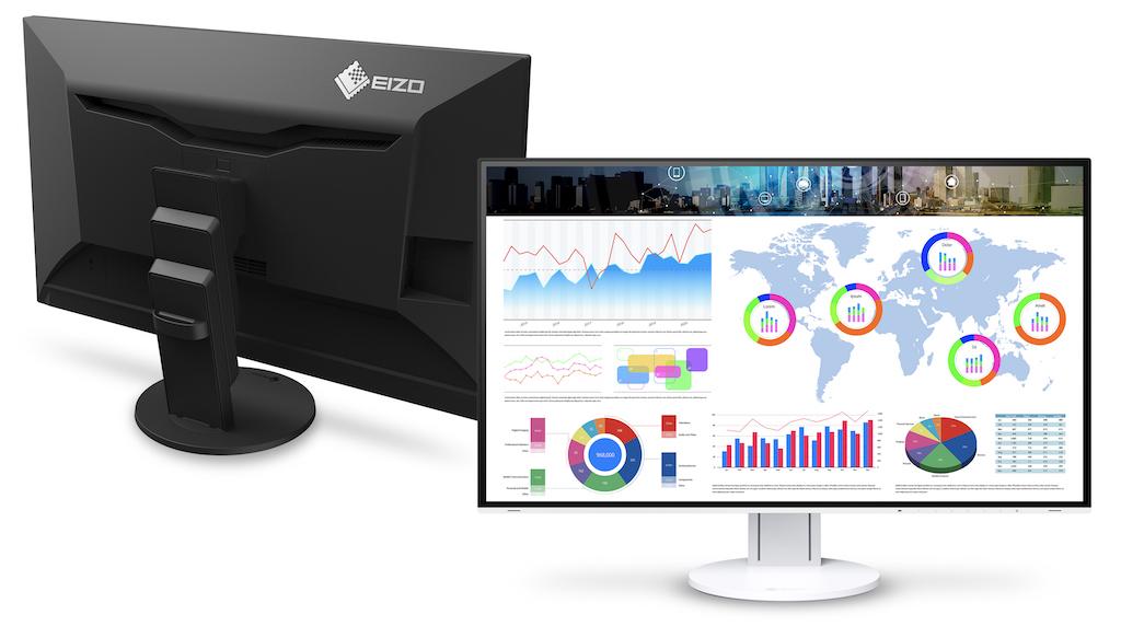 Eizo renueva su modelo insignia FlexScan con el monitor sin marco de ...