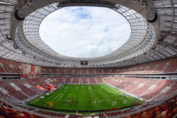 Estadio Luzhniki moscu Tripleplay