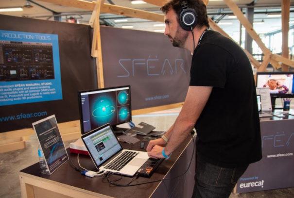 Estudio profesional de audio 3D inmersivo de Sfear