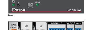 Extron HD CTL 100: controlador de pantallas para salas de reunión