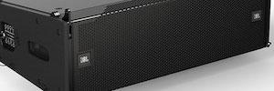 JBL completa su gama VTX de refuerzo sonoro con un altavoz line array compacto y un subwoofer