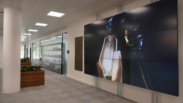 Peerless AV en sede Panasonic UK
