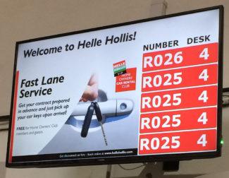 Qmatic en Helle Hollis Car Rental