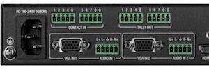 AMX VPX: selectores de presentación 4K60 de pequeño formato y escalador integrado