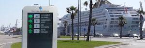 SICE e Icon Multimedia modernizarán con comunicación digital dinámica el Puerto de Barcelona