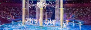 'The House of dancing water' de Macao amplía su infraestructura de comunicaciones con Riedel Bolero