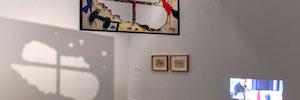 Vitelsa participa en la instalación audiovisual de la exposición de Joan Miró en el IVAM