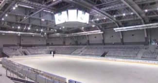 Absen en Crystal Ice Arena