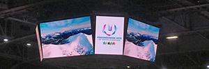 El Crystal Ice Arena se prepara para la Winter Universiade 2019 con la tecnología Led de Absen