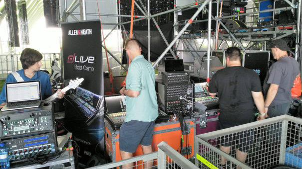 Allen Heath Mad Cool2018 Audio-technica iberia