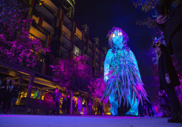 (Foto: Ken Leanfore) Christie en The Liminal Hour Vivid Sydney 2018