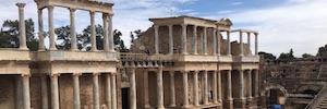 El Teatro y Anfiteatro Romano de Mérida recrean su grandeza en realidad virtual con Imageen