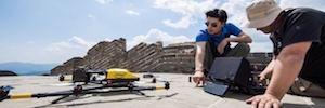 Tecnología y drones de Intel para estudiar y conservar la Gran Muralla China
