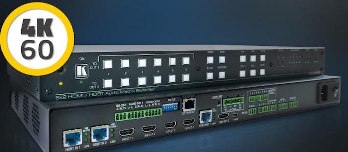 Kramer VS-622DT: comprehensive presentation with room automation system