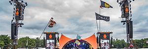 Meyer Sound crea un nuevo paradigma de sonorización en el Festival de Roskilde 2018
