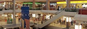 Impactmedia renueva el circuito de publicidad digital del centro comercial Moraleja Green