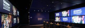 El Museo Grammy visualiza la historia de la música con pantallas y videowall 4K de Planar
