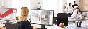 NEC amplía el entorno de visualización en la oficina con el monitor PA271Q