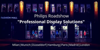 Roadshow2018 d'écran professionnel Philips