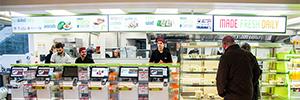 Wasabi opta por LG para las soluciones de digital signage de sus locales londinenses
