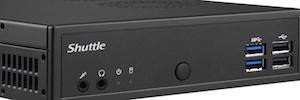 Shuttle amplía su gama PC 1,3 litros con DH02U para hasta cuatro monitores 4K