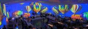 The Temple House: enorme lienzo inmersivo en 360º en Miami Beach controlado con Datapath