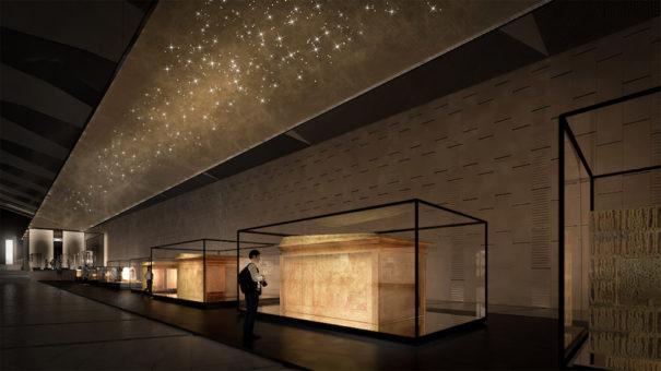 Acciona producciones y diseno gran museo egipcio