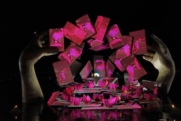 Christie con Carmen en Seebuhne Festival de Bregenz