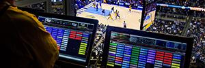 Daktronics y Vitec se unen para ofrecer una poderosa solución integrada para espacios deportivos y de entretenimiento