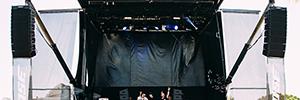 El sonido de Bose participó en el festival veraniego de los Álamos Beach